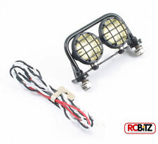 Fastrax 2 Light Metal Roll Bar 18mm Lights includes LED's Lenses & Mountings