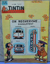 Journal Tintin n°729, 11 octobre 1962, Spaghetti, dessin de Attanasio