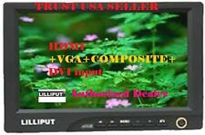 "LILLIPUT 8"" 869GL-80NP/C 800X480 16:9  XGA VGA MONITOR WITH DVI , HDMI INPUT"