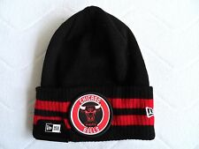 New Era CHICAGO BULLS Black Red BEANIE TUQUE Hat Baseball MLB USA COMFY Tags