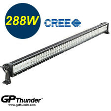 50in 6000K Off Road 288W CREE LED Fog Lamp Work Light Bar SUV Jeep 4WD