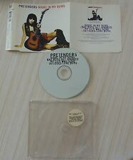 RARE CD MAXI SINGLE NIGHTS IN MY VEINS 4 TITRES PRETENDERS 1994