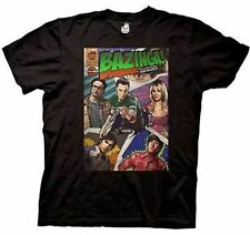 Officially Licensed Big Bang Theory Bazinga Comic Book Cover T Shirt Xxl 2Xl