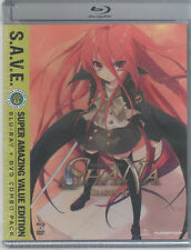 Shakugan no Shana Season II - S.A.V.E. (BD/DVD, 2014, 8-Disc Set).
