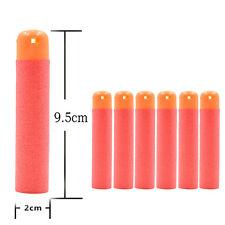 120PCS 9.5CM Refill Foam Bullet Darts Nerf N-Strike Elite Mega Centurion Orange