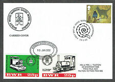 Bagley Wood Railway 2002 15th January cover with 2 x 25p stamps (1)
