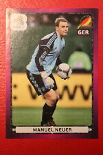Panini EURO 2012 N. 249 DEUTSCHLAND NEUER NEW With BLACK BACK TOPMINT!!