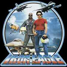 80's Action Classic Iron Eagle Poster Art custom tee Any Size Any Color