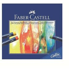 Faber-Castell Oil Pastel Crayons Studio Quality Box of 24 Professional
