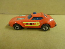 MATCHBOX SUPERFAST N° 64 MADE IN ENGLAND 1976 - FIRE CHIEF
