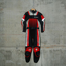 DAINESE - VULCAN DIV. LADY SUIT - SIZE 42 - RED - 2513179