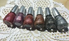 China Glaze Nail Lacquer 6 Lot - Kaleidoscope Collection New Discontinued VHTF