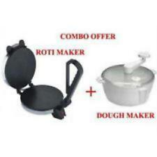 COMBO OF ELECTRIC NOV CHAPATI MAKER/PAPAD/ROTI/FISH/NAAN MAKER& DOUGH/ATTA MAKER