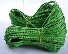 2M Man-made green Leather Braid Rope Hemp Cord For Necklace Bracelet 5MM