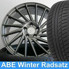 """19"""" ABE Winterräder Keskin KT17 PP GREY 235/35 für Mercedes E-Klasse Lim. 212"""