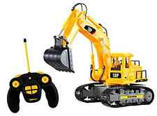 Top Race Excavator Electric RC Remote Control Full Function Construc Tractor Toy