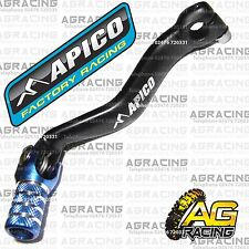 Apico Black Blue Gear Pedal Lever Shifter For Yamaha YZ 125 2004 Motocross New