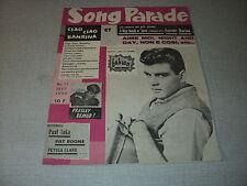 SONG PARADE 11 (9/59) ELVIS PRESLEY FABIAN CATERINA VALENTE PETULA CLARK DALIDA