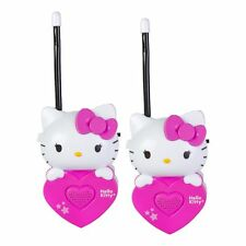 MOLDED HELLO KITTY HEART WALKIE TALKIES-2 PACK-BRAND NEW IN FACTORY PACKAGE!
