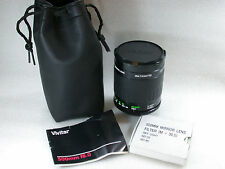 Vivitar MC 500mm f/8 Mirror Lens T2 Mount + M42 T2 Mount + 3 Filters