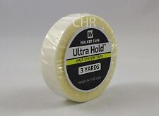 """Ultra Hold Tape Adhesive 1/2"""" x 3"""" Yard Roll No Shine Lace Wig Toupee Hairpiece"""