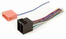 New Car Stereo Radio Receiver Wiring Harness Plug For Installing A New CD Player