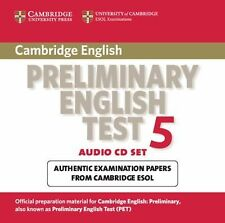 Cambridge Preliminary English Test 5 Audio CD Set (2 CDs): Paper 5 (PET Practice