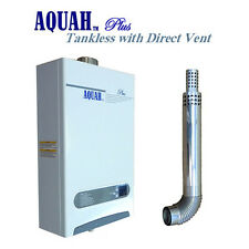 AQUAH DIRECT VENT NATURAL GAS TANKLESS GAS WATER HEATER