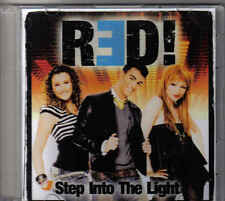 Red-Step Into The Light Promo cd single eurodance Holland