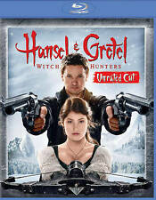 Hansel & Gretel: Witch Hunters (Blu-ray/DVD, 2013, 2-Disc Set) NEW