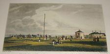 Una vista de Gun Hill, Southwold 1829 por H Davy grabado por Heath P