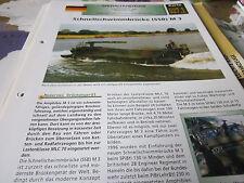 Archiv Militärfahrzeuge Spezialfahrzeuge 27.1 Schnellschwinnbrücke SSB M 3 BRD