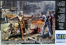 MASTER BOX™ 35175 Zombie Hunter - Road to Freedom FIGUREN in 1:35