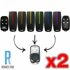 2 x Avanti, Superlift, Centurion & TX4 Garage Door Gate Remote Control (NEW)