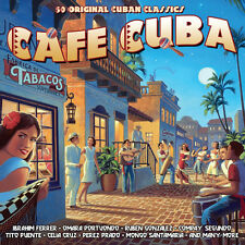Cafe Cuba VARIOUS ARTISTS Best Of 50 Classic Cuban Recordings MUSIC New 2 CD