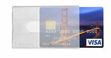 5x Kartenhülle Ausweishülle Bankkartenhülle für Kreditkarten EC Karten