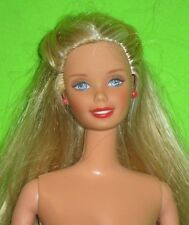 BARBIE  DOLL -with GIGGLING BABY SOUNDS-NUDE FOR OOAK