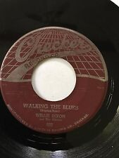 """BLUES 45/ WILLIE DIXON """"WALKING THE BLUES"""" / """"IF YOU'RE MINE""""  CLEAN ORIG HEAR"""