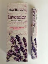 Wholesale Hari Darshan Ethical Incense 6 x 20 Stick packs Lavender Fragrance