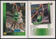NBA UPPER DECK 1993/94 - Robert Parish # 92 - Celtics - Ita/Eng - MINT