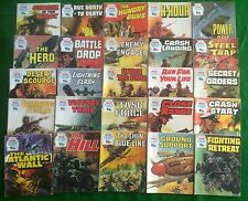 25 War Picture Library Comics 1970's Random Lot Battle Commando