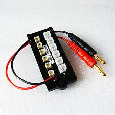 6x micro JST 6x JST-pH paralelo adaptador Board 160 180 1s Lipo batería IMAX b6 Blade