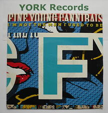 "FINE YOUNG CANNIBALS - I'm Not The Man I Used To Be - Ex Con 7"" Single LON 244"