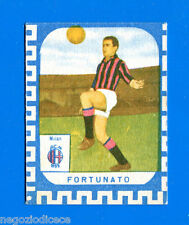 CALCIATORI NANNINA 1961-62 -Figurina-Sticker - FORTUNATO - MILAN -New