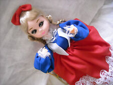 vintage bradley doll big eye decoration 4th fourth of july boudoir decoration