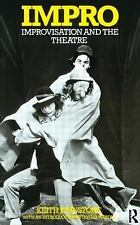 Impro: Improvisation and the Theatre, Johnstone, Keith, Good Condition, Book