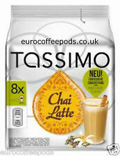 Tassimo Coffee Chai Latte,  5 x Packs (40 Cups / Drinks) 40 T Disc