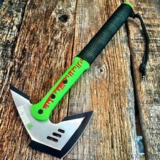 "17"" ZOMBIE SURVIVAL CAMPING TOMAHAWK THROWING AXE BATTLE Hatchet knife hunt -T"