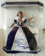 BARBIE BLACK MILLENNIUM PRINCESS 1999 serie MAGIA DELLE FESTE NRFB NUOVA PERFECT