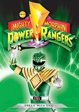 Mighty Morphin Power Rangers: Green With Evil (2014, REGION 1 DVD New)
